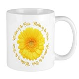 Yellow Daisy Mother of the Bride  Tasse