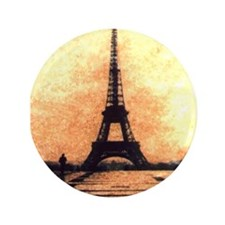 "Eiffel Tower 3.5"" Button (100 pack)"