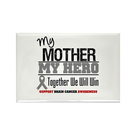 BrainCancerHero Mother Rectangle Magnet
