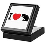 I love pussy Keepsake Box