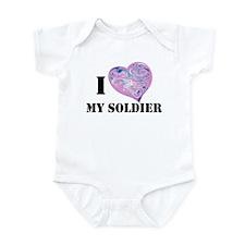 military valentine Infant Bodysuit