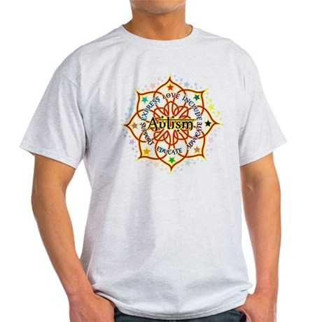 Autism Lotus Light T-Shirt