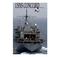 USNS Concord Postcards (Package of 8)
