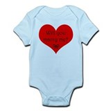 Marry Me Infant Bodysuit