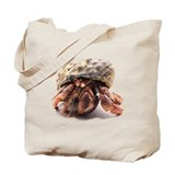 Hermit Crab Posing Tote Bag