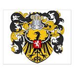 Van Laren Coat of Arms Small Poster