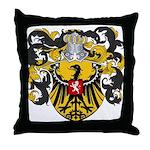 Van Laren Coat of Arms Throw Pillow