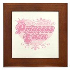 """""""Princess Eden"""" Framed Tile"""