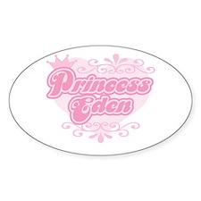 """Princess Eden"" Oval Decal"