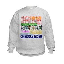 Multi Cheerleader Sweatshirt