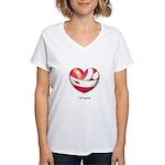I Feel Great Women's V-Neck T-Shirt