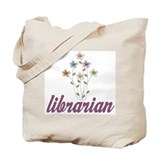 Pretty Librarian Tote Bag
