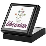 Pretty Librarian Keepsake Box