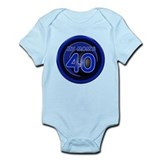 Mom Is 40! Infant Bodysuit