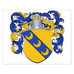 Van Manen Coat of Arms Small Poster