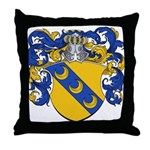 Van Manen Coat of Arms Throw Pillow