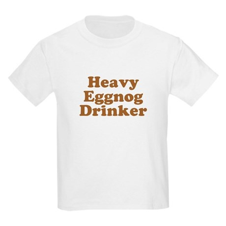 Heavy Eggnog Drinker Kids T-Shirt