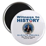 President Obama first black president Magnet