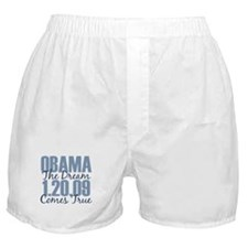 Obama The Dream Comes True Boxer Shorts