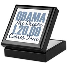 Obama The Dream Comes True Keepsake Box