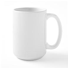 Kiss me under the mistletoe Large Mug