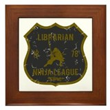 Librarian Ninja League Framed Tile