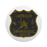 Librarian Ninja League Ornament (Round)