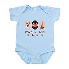 Peace Love Paris Infant Bodysuit