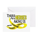 Heroes Among Us SARCOMA Greeting Card
