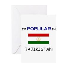 I'm Popular In TAJIKISTAN Greeting Card