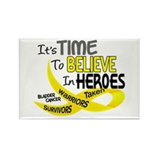 Time To Believe BLADDER CANCER Rectangle Magnet
