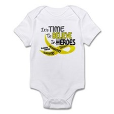 Time To Believe BLADDER CANCER Infant Bodysuit