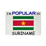 I'm Popular In SURINAME Rectangle Magnet
