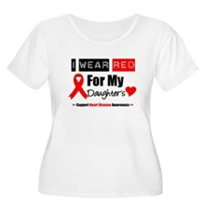 I Wear Red Daughter T-Shirt