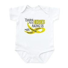 Heroes Among Us BLADDER CANCER Infant Bodysuit