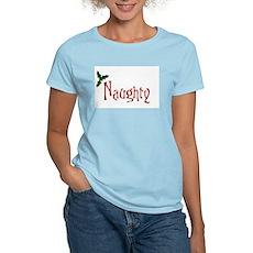 Naughty Womens Pink T-Shirt