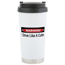 Warning! I Drive Like A Cullen Ceramic Travel Mug
