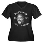 Durwood print Women's Plus Dark Tee