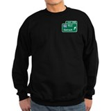 Detroit, MI Highway Sign Jumper Sweater