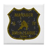 Manager Ninja League Tile Coaster