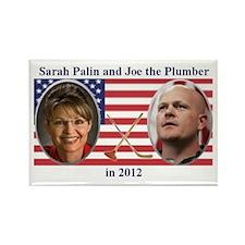 Palin Plumber Rectangle Magnet