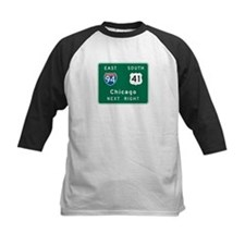 Chicago, IL Highway Sign Tee
