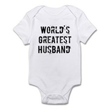 Worlds Greatest Husband Infant Bodysuit