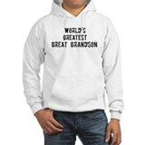 Worlds Greatest Great Grandso Jumper Hoody