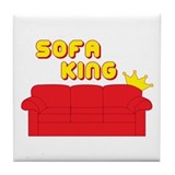 Sofa King Tile Coaster