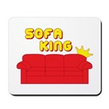 Sofa King Mousepad