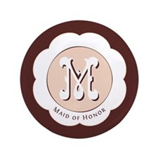 "Market Maid of Honor 3.5"" Button (100 pack)"