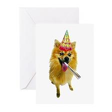 Pomeranian Birthday Cards (Pk of 20)