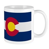 Beloved Colorado Flag Modern Mug