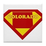 Super Star Colorado Tile Coaster